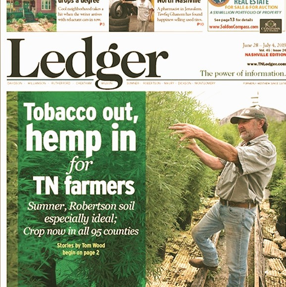 Tobacco out, hemp in media