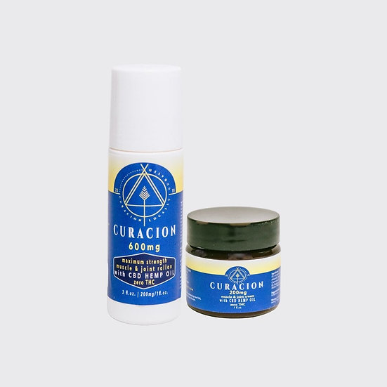 Fitness CBD Topical Bundle
