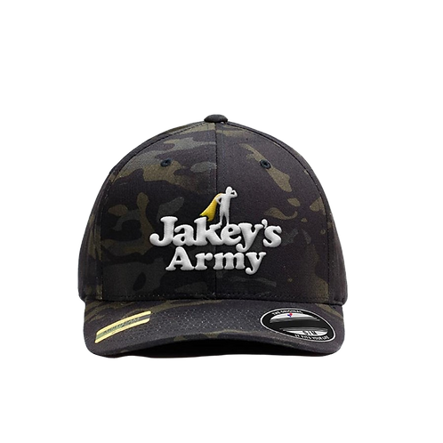 Jakey's Army FlexFit Puff Embroidered Hat