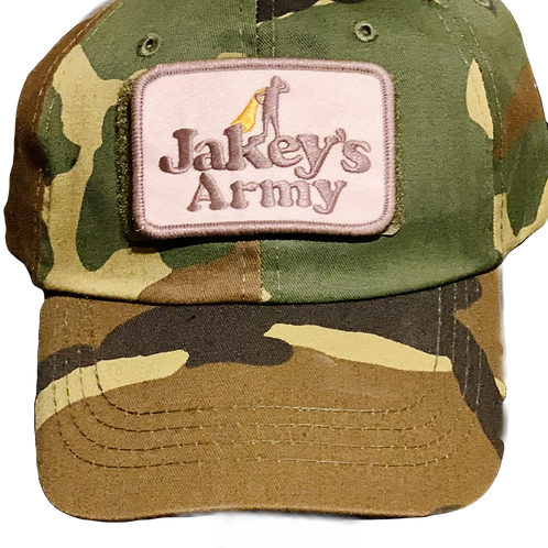 Jakey's Army Operator Hat with Jakey Patch