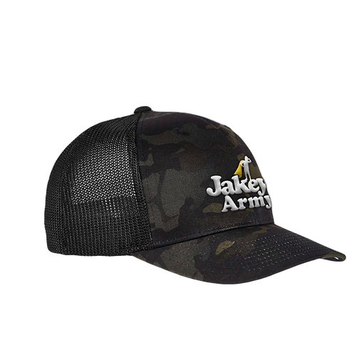 Jakey's Army Snapback Puff Embroidered Hat