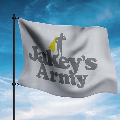 Jakey's Army Flag 3'x5'
