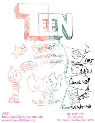 Teen Arts Week at THE POINT CDC