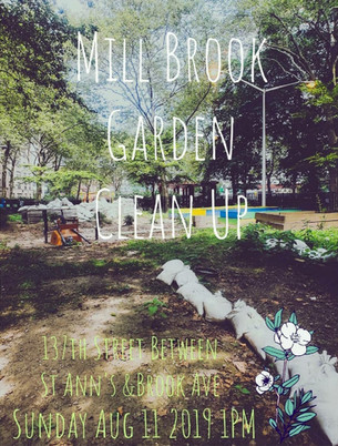 Mill Brook Community Garden Clean Up