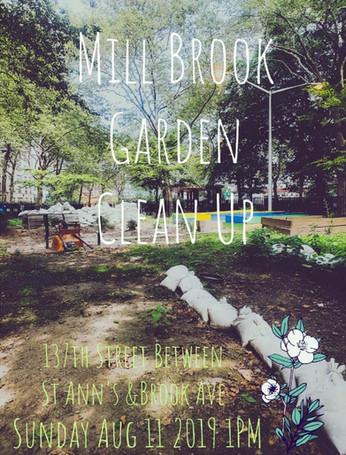 Mill Brook Community Garden Clean Up