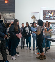 Teen Arts Week 2020 Tour of Contact High: A Visual History of Hip-Hop