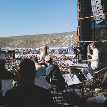 BRUCKNER UNIVERSITY BIG BAND – Jazz on the Rocks Festival/Southafrica 2019  © Julia Schiff