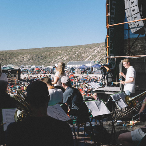 BRUCKNER UNIVERSITY BIG BAND – Jazz on the Rocks Festival/Southafrica 2019  © Julia Schiff