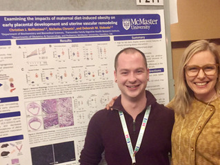 Sloboda Lab rocks it at the Canadian National Perinatal Research Meeting 2019