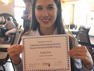 Congrats Emily Prieur!