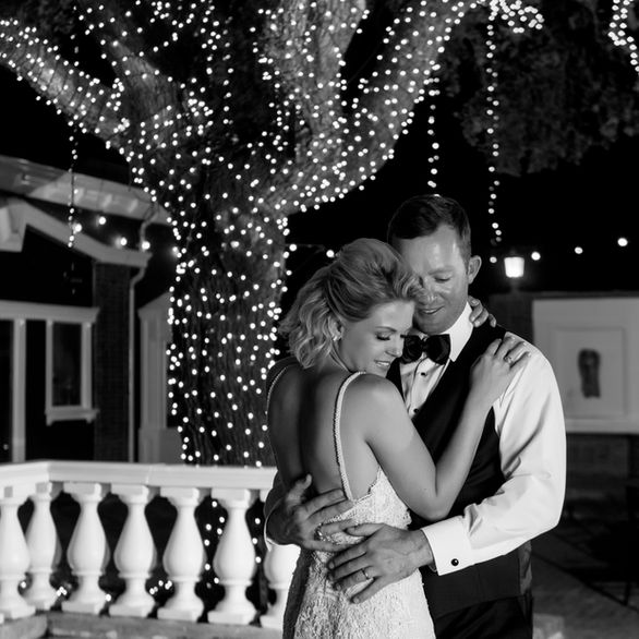First dance for husband and wife