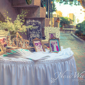 Memory table and guest book