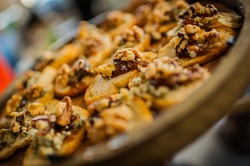 Gorgonzola, Fig, Fruit Chutney, and Walnut Tartine