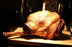 Roasted Turkey Carving Station