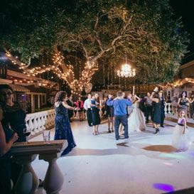 Reception on Dance Floor