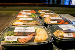 Diamond Point GO individually portioned meals