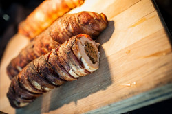 Chicken Roulade Carving Station