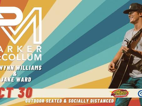 Parker McCollum Concert - October 30, 2020