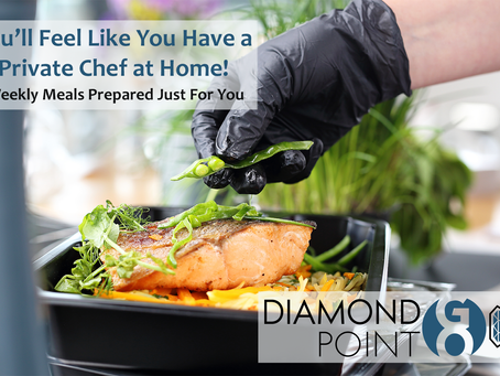 Diamond Point GO--Like Having a Private Chef in Your Home!