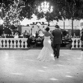 Couple's Grand Entrance