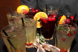 Specialty Cranberry Drinks