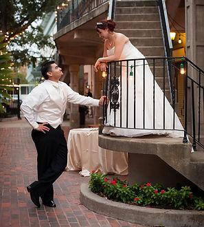 bride and groom after outdoor wedding.jp