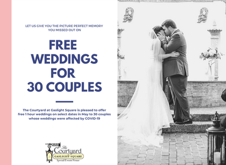 Free Wedding for 30 Couples!