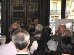 Conferència Círculo Holmes a la Biblioteca Pública Arús.
