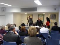Presentació del llibre Las enseñanzas de Sherlock Holmes,  a l'Aula dels Escriptors de l'Ateneu Barcelonès. 12 de maig de 2010.