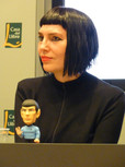 Presentació del llibre Spock i jo, la Casa del Llibre, 09-11-2011.