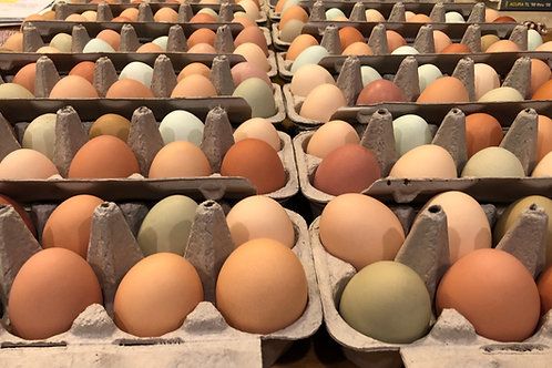 Egg Subscription - 1 dozen/week for 4 weeks