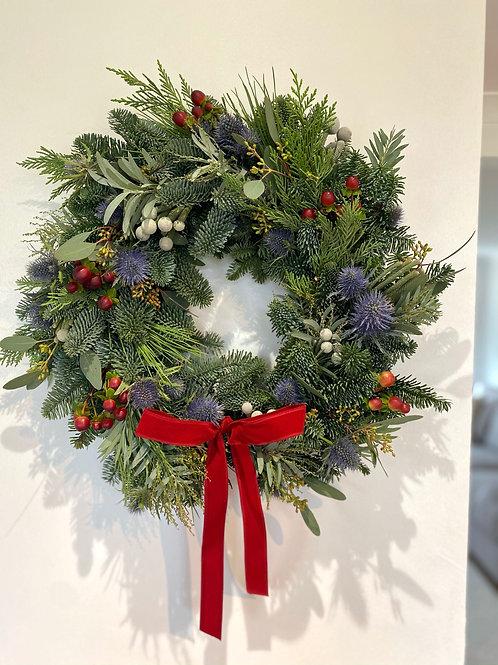 'Elegance' Christmas Wreath