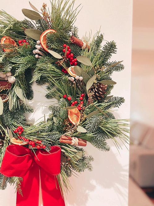 'The Classic' Christmas Wreath