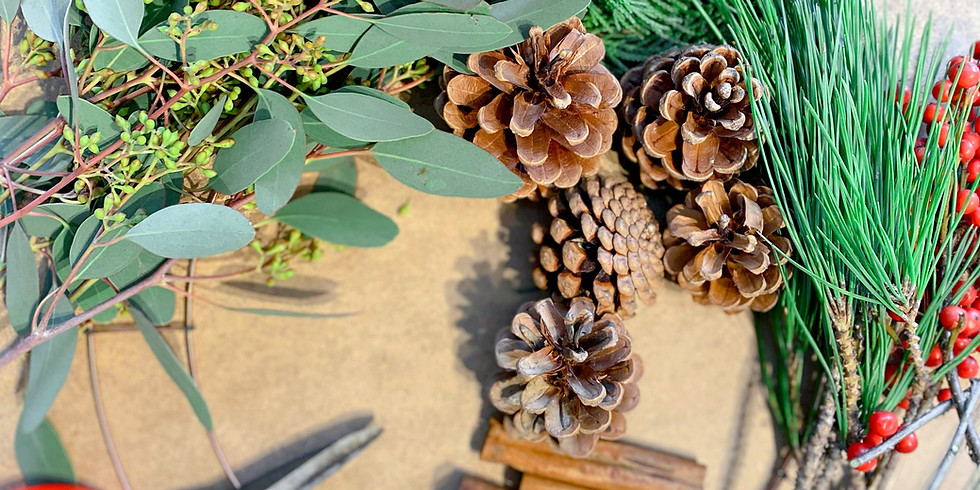 Private (Virtual) Christmas Wreath Workshop