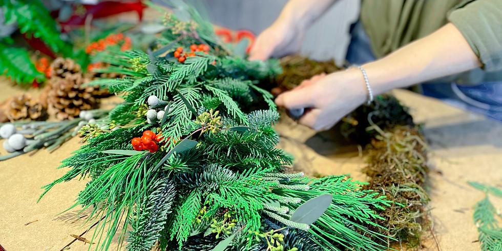 Christmas Wreath Workshop |  6th December 2020