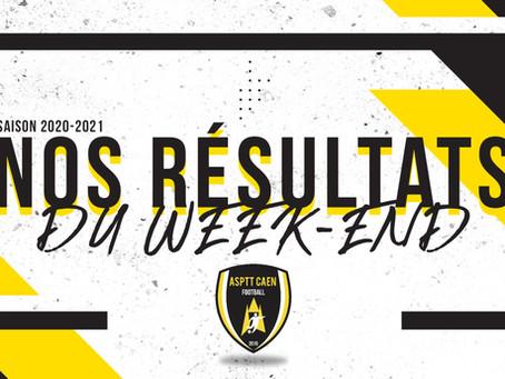 RÉSULTATS DU WEEK-END 17-18/10 & RÉACTIONS