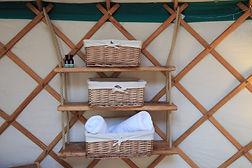 shelf for belongings