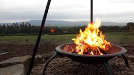 firepit at Dandelion Hill