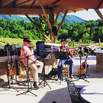 Jerry & David at Beliveau Estate Winery.