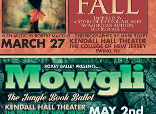 FALL, a new ballet, to premiere at West Chester University and the College of New Jersey – recipient