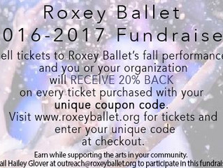 Raise Funds with Roxey Ballet!