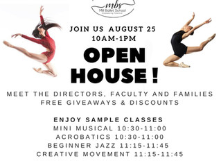 Roxey Ballet Joins Mill Ballet School For an Incredible Open House Event