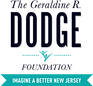 Geraldine R Dodge foundation logo imagine a better nj