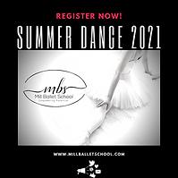 Mill Ballet Summer Dance Classes in Lambertville NJ
