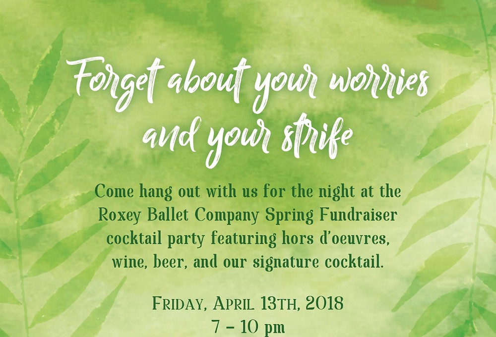 Roxey Ballet raises funds throughout the year.