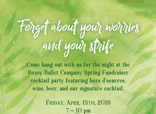 Roxey Ballet Company invites the community to its annual spring fundraiser at the historic Prallsvil