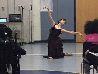 Roxey Ballet performs Carmina Burana at three New Jersey schools.