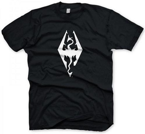 Skyrim T-Shirt Dragon Symbol