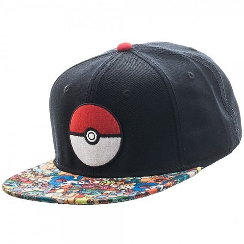Pokemon Pokeball Snapback