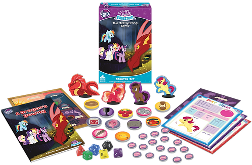My Little Pony RPG Tails of Equestria Starter Set